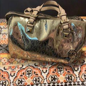 GORGEOUS Michael Kors Gold Bag!!